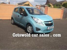 2012 Chevrolet Spark plus 1.0 5 door 50000 miles 65mpg low tax and insurance imaculate condition