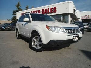 2012 Subaru Forester 5dr SUV Auto 2.5X AWD 4 CYLINDER  NO ACCIDE
