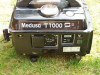 Medusa T1000 Generator 240V AND 12V out lets