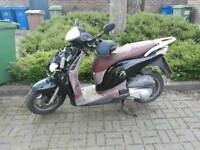 Honda ps 125cc Full logbook key startes on the button