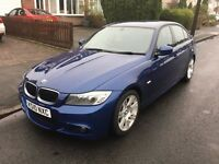 BMW 3 Series 320i M Sport 2.0 Manual Petrol 4 Door Saloon Blue