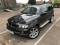 2005 (55) BMW X5 3.0 d Sport 5dr Automatic Black Full Service History SUV 6 Months Warranty Included