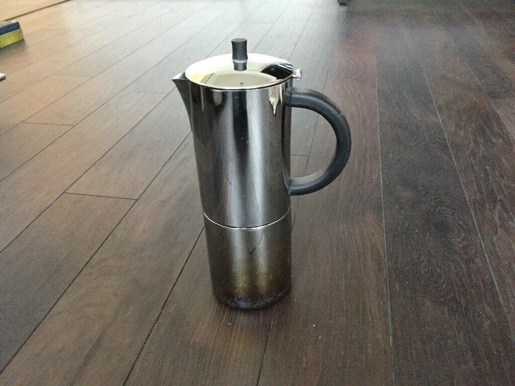 Steel Hob top espresso pot