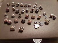 Genuine pandora charms and bracelets