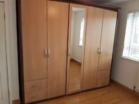 Double wardrobe, used. Good condition. Lenght-236. Height-217. Depth-62.
