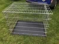 "XL dog cage 42"" long suit Labrador size dog £40"