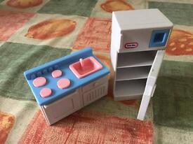 Little Tikes Dolls House Furniture