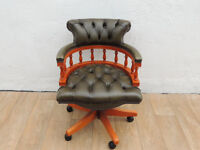 Original leather captains chair (Delivery)