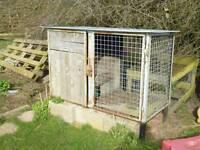 Steel storage box chicken coop etc