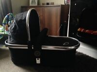Icandy p2 Carrycot in Black Magic