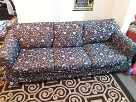 Fabric Sofa Couch 3 Seater