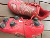 Football boots child's size 12