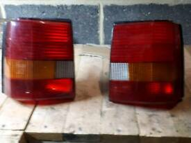 Escort mk4 rear light clusters