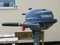 Yamaha 4 hp 4 Stroke, long shaft outboard for sale