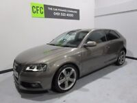 2012 AUDI A3 2.0 TDI S LINE BLACK EDITION 140 BHP ***BUY FOR ONLY £33 A WEEK FINANCE***