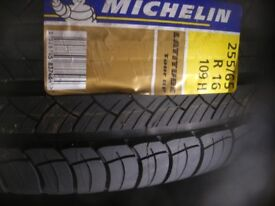 Brand new Michelin Latitude 255/65XR16 Tyres