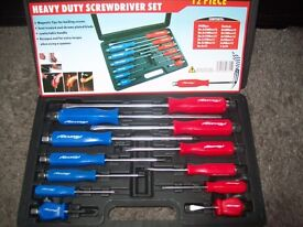 BRAND NEW 12 PCE SCREWDRIVER SET