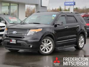 2014 Ford Explorer LIMITED! POWER HEATED & COOLED SEATS! BACK UP