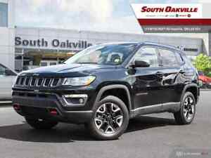 2018 Jeep Compass Trailhawk|BTOOTH|DUAL SROOF|HTD LTHR|NAV