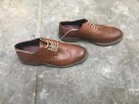 New look men's smart brown brogues smart shoe SIZE 10