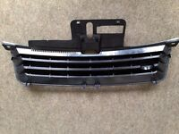 VW POLO BLACK DEBADGED SPORTS BONNET GRILL FOR 9N 2001 - 2005
