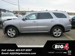 2015 Dodge Durango Limited, 2x DVD, Leather, Sunroof