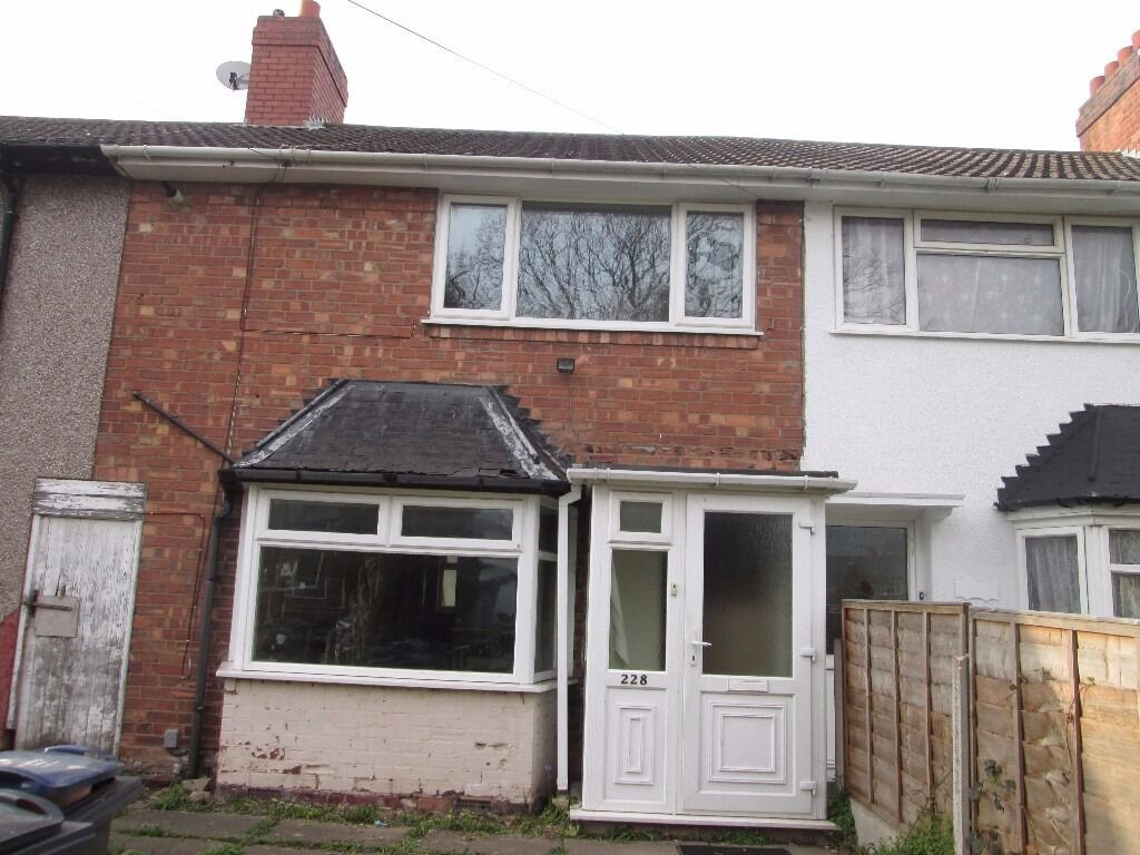 THREE BEDROOM HOUSE TO RENT * COTTERILLS LANE * ALUM ROCK * DSS ACCEPTED * CALL NOW TO VIEW