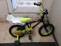 "Apollo Claws 14"" wheeled kids bike"