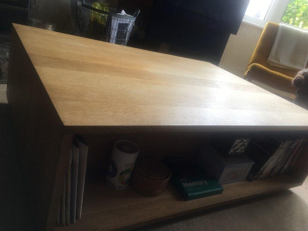 Habitat Max Large Oak Coffee Table