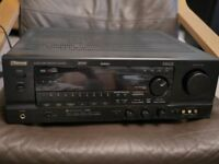 Sherwood R925RDS Surround Sound Receiver 6 x 100W RMS, with remote