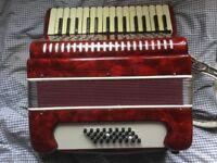 Stella 32 bass folk piano Accordion