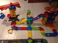 Toot Toot Drivers Construction Set, Parking Tower with extra track
