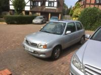 2003 Nissan Micra Tempest 1.0 Litre MOT (No advisories) Lots of History Sunroof Very Cheap To Run!!