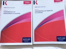 Kaplan CIMA Certificate Course Books