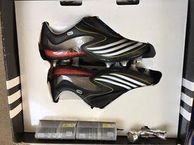 Ashley Cole's Custom F50 Football Boots + Signed Chelsea Shirt