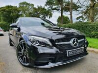 Mar 2019 Mercedes C-Class C220d AMG Line Premium 4dr 9G-Tronic 1 OWNER, 19 Inch AMG ALLOYS, STUNNING