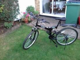 Fold up mountain bike