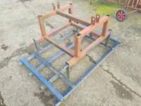 Tractor three point linkage 4ft reversible land leveller