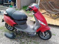 Piaggio Zip 100 4 stroke spares or repair 2006