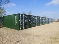 Royston Storage - Self Store Storage Containers - 24hr access - 20ft x 8ft - Secure