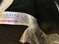 Grey men's trousers from Debenhams, 34 / 32