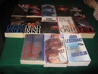 John Lescroart books $1 each or $10 for the lot