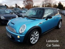 Mini Cooper S 1.6 Petrol / 6 Speed Manual, Full Service History, Drives Superb, Lovely Condition.