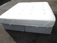 6ft Super king size divan bed with storage. Delivery available