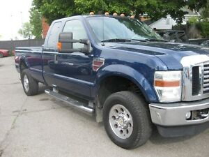 2008 Ford F-250 LARIAT, 4x4 Diesel 6.4L,long box, htd leather