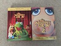 The Muppet Show DVD's - series 1 and 2