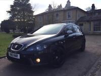 2010 Seat Leon 2.0 TDI FR+FSH+HPI CLEAR+SAT NAV+PX+SWAP