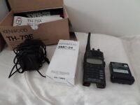 Kenwood handheld FM Dual Bander TH79e