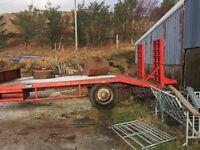 Plant trailer 8ton
