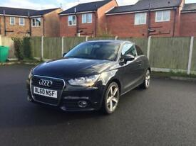 AUDI A1 1.4 TFSI 3DR BLACK IMMACULATE CAR GENUINE LOW MILES FULL SERVICE HISTORY 2010